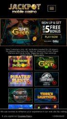 Jackpot Mobile Casino mobile screenshot