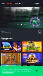 Joo Casino mobile screenshot