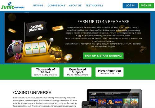 Junic Partners desktop screenshot