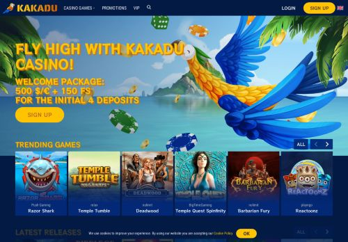 Kakadu desktop screenshot