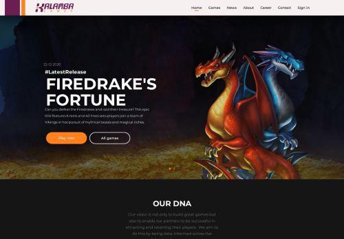 Kalamba Games desktop screenshot