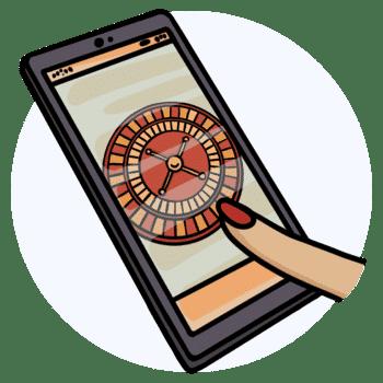 live roulette mobile