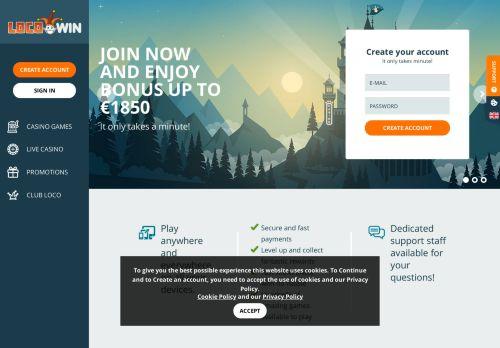 Locowin desktop screenshot