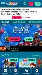Lotaplay mobile screenshot