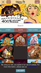 Madame Chance mobile screenshot