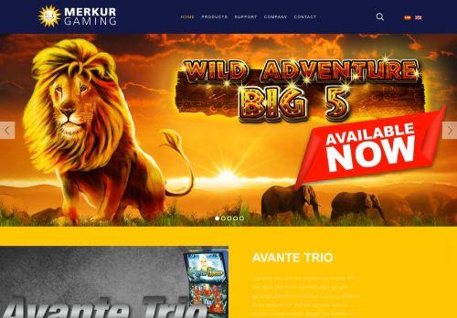 Merkur Gaming desktop screenshot