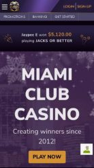 Miami Club mobile screenshot