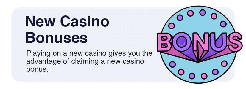 new casino bonuses