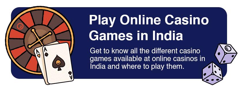 online casino games india