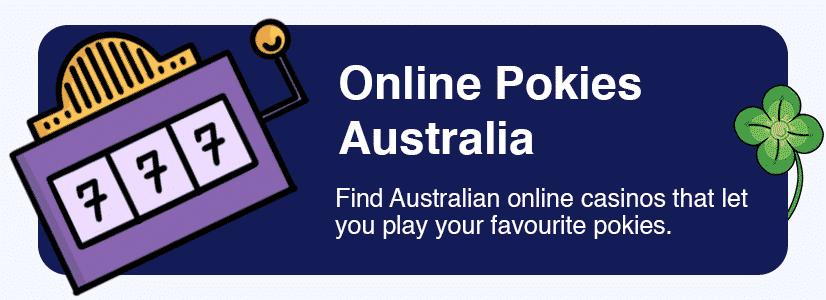 Australia online pokies & casino games