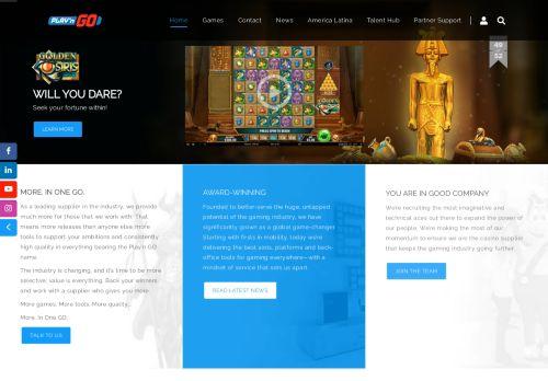 Play'n Go desktop screenshot