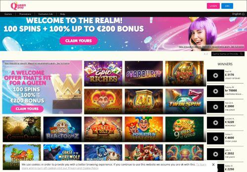 Queenplay desktop screenshot