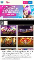 Queenplay mobile screenshot