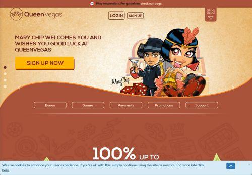 QueenVegas desktop screenshot