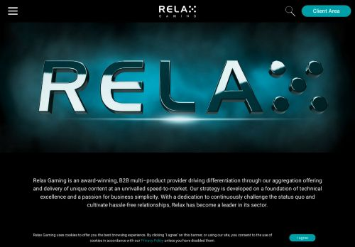 Relax Gaming desktop screenshot