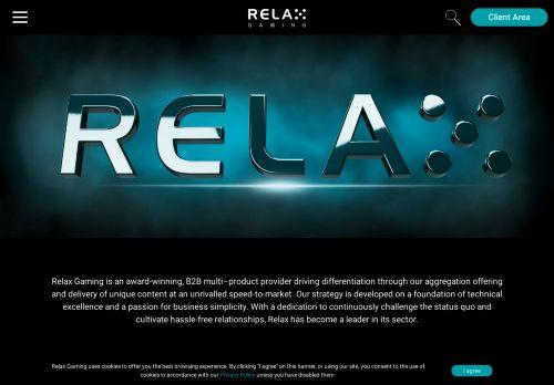 Relax Gaming desktop screenshot