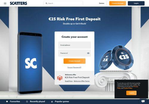Scatters desktop screenshot