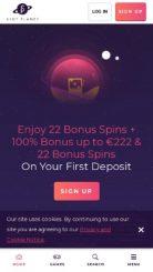 Slot Planet mobile screenshot
