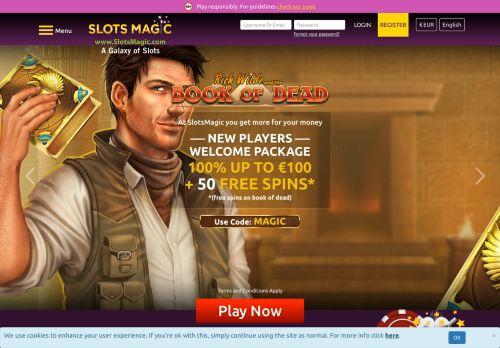 SlotsMagic desktop screenshot