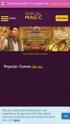 SlotsMagic mobile screenshot