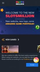SlotsMillion mobile screenshot