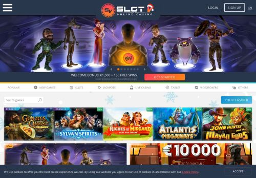 SlotV desktop screenshot