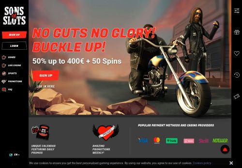 SonsOfSlots desktop screenshot