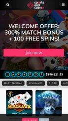 Sports and Casino mobile screenshot