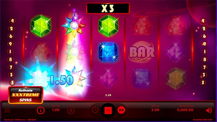 starburst slot XXXTreme win