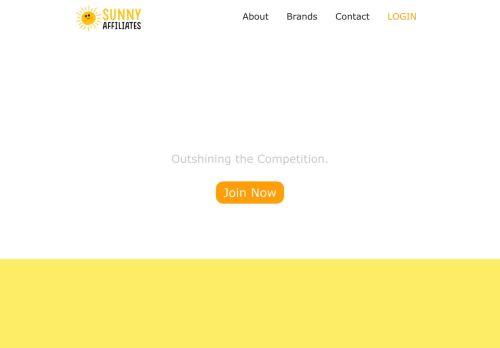 SunnyAffiliates desktop screenshot