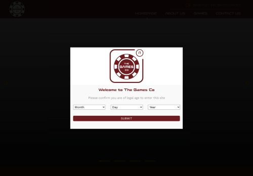 The Games Company desktop screenshot