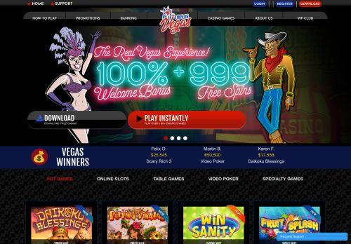 This is Vegas desktop screenshot