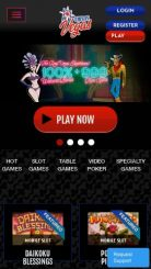 This is Vegas mobile screenshot