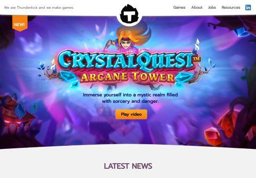 Thunderkick desktop screenshot