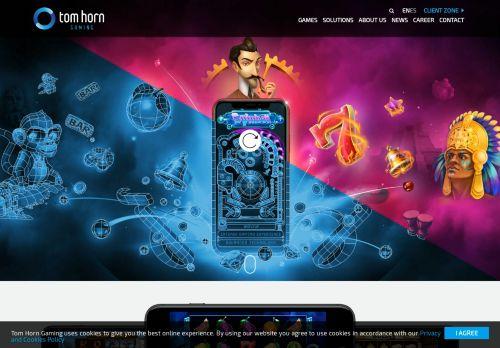 Tom Horn Gaming desktop screenshot