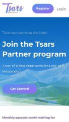 Tsars Partners mobile screenshot