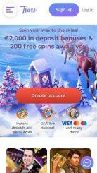Tsars mobile screenshot