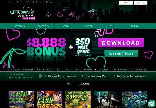 Uptown Aces desktop screenshot