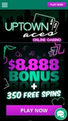 Uptown Aces mobile screenshot