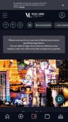 Vegas Lounge mobile screenshot