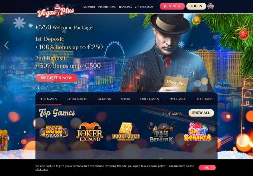 VegasPlus desktop screenshot