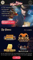VegasPlus mobile screenshot