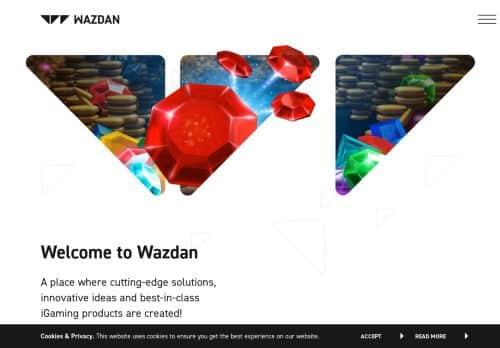 Wazdan desktop screenshot