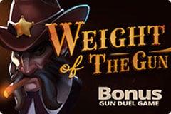 weight of the gun slot