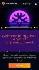 Yggdrasil mobile screenshot