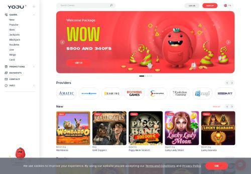 Yoju desktop screenshot