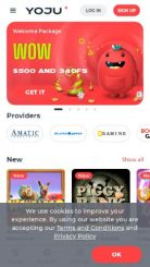 Yoju mobile screenshot