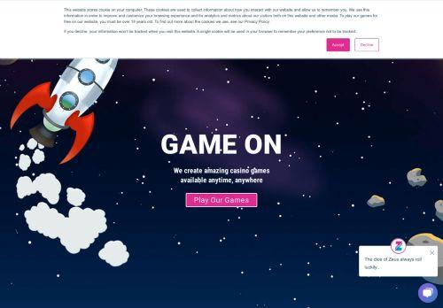 Zeus Play desktop screenshot